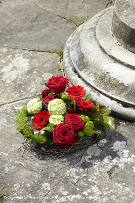 Red and Green Basket
